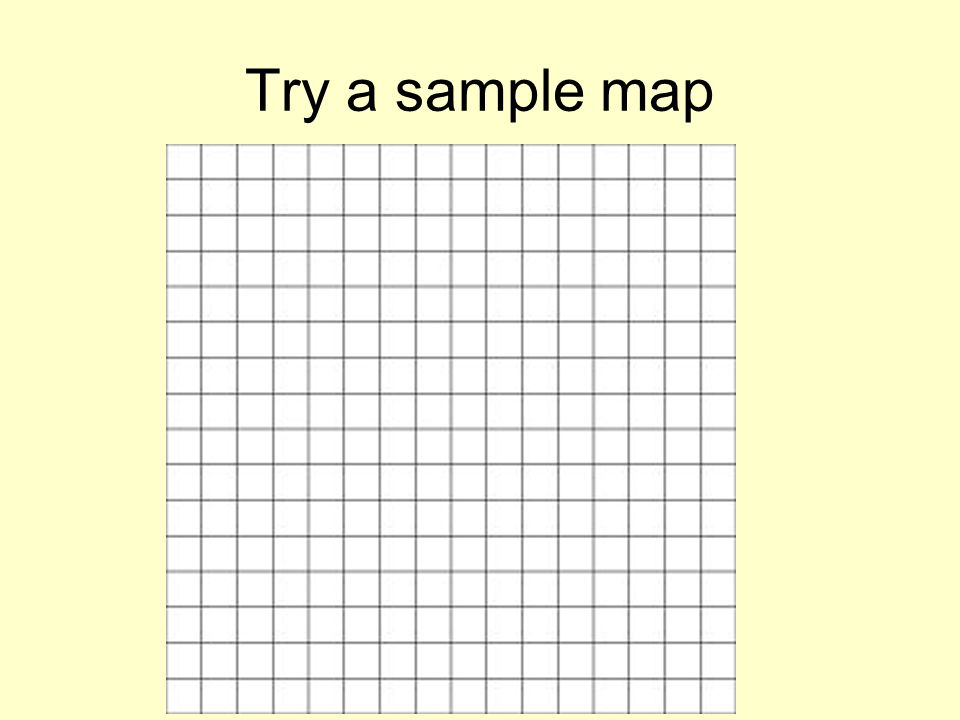 Try a sample map