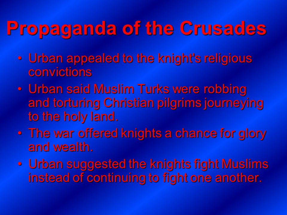 Propaganda of the Crusades