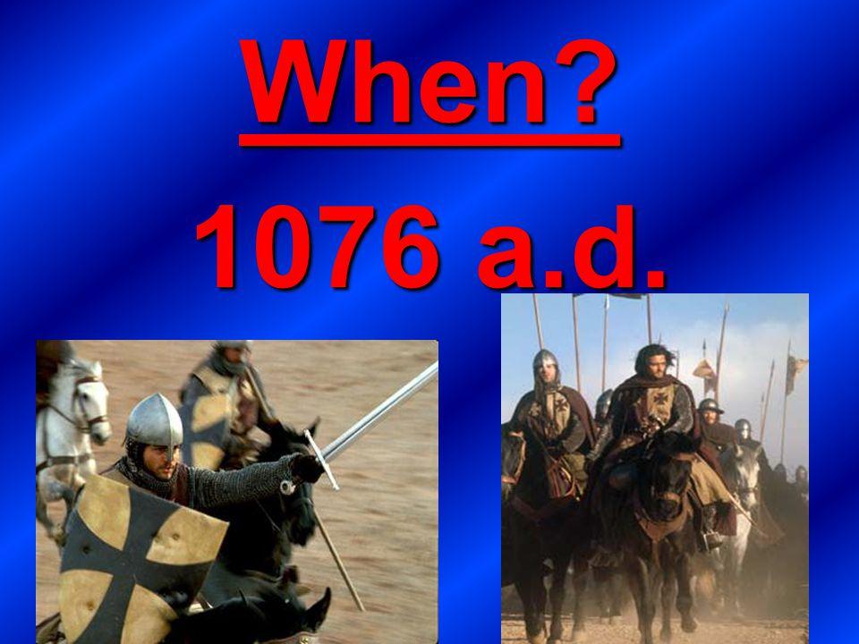 When 1076 a.d.
