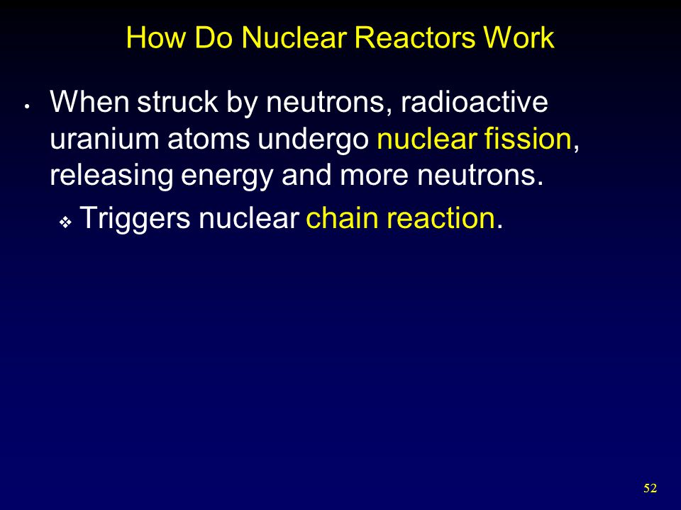 How Do Nuclear Reactors Work
