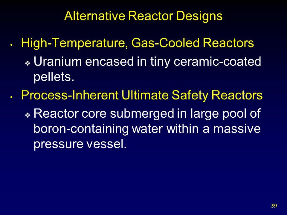 Alternative Reactor Designs