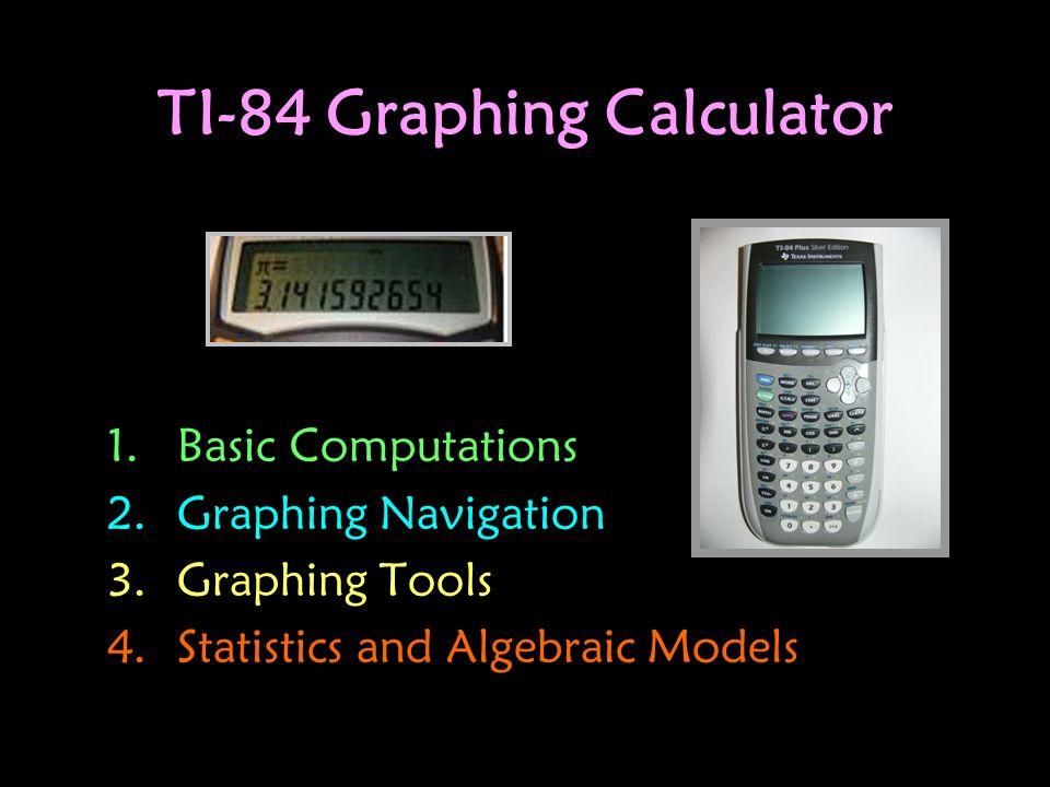 TI-84 Graphing Calculator