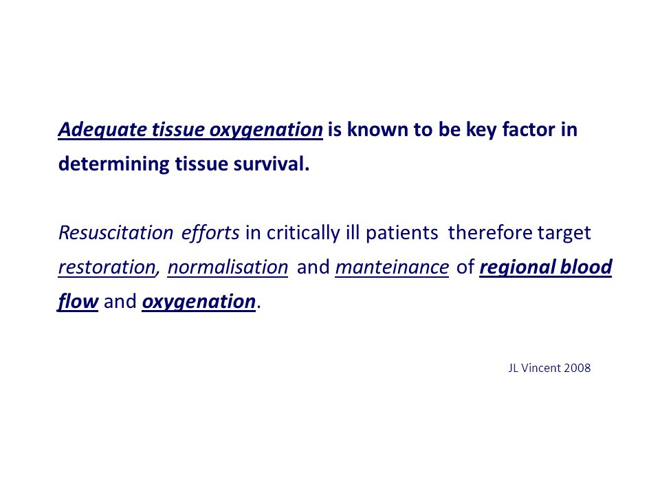 Adequate tissue oxygenation is known to be key factor in determining tissue survival.