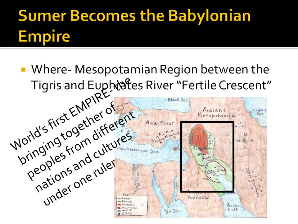 Sumer Becomes the Babylonian Empire