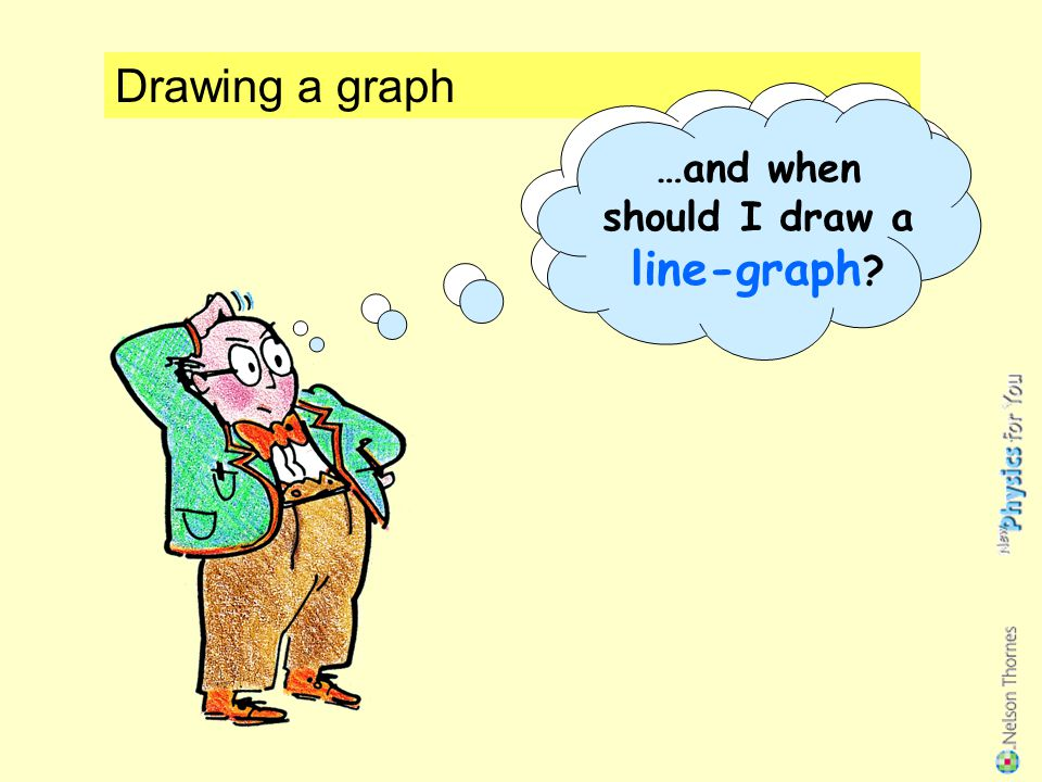 When should I draw a bar-chart… …and when should I draw a line-graph