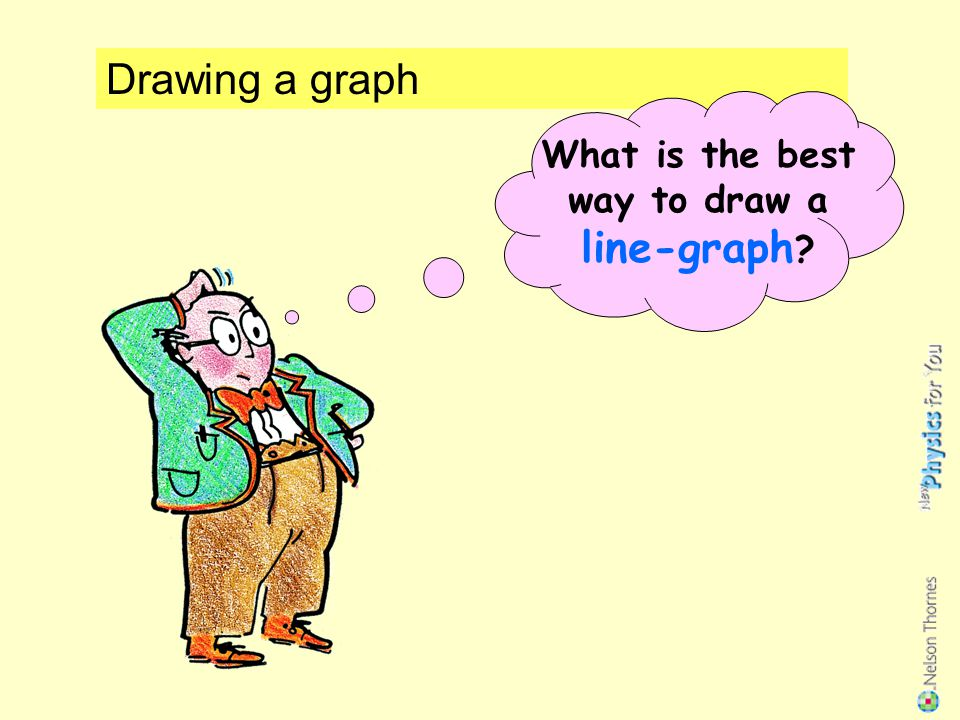 What is the best way to draw a line-graph