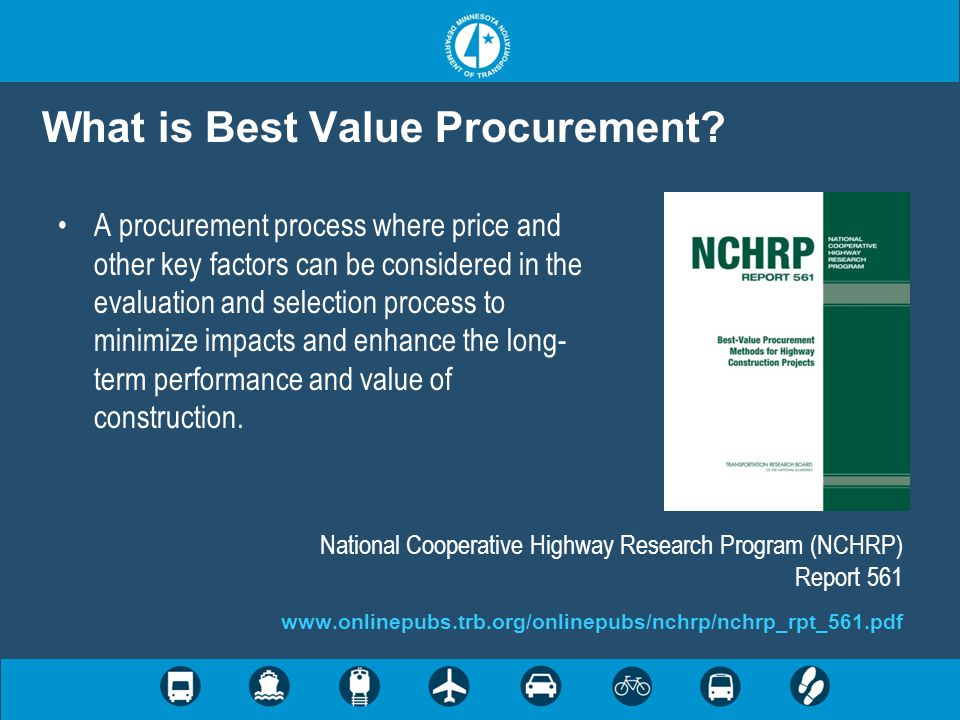 What is Best Value Procurement