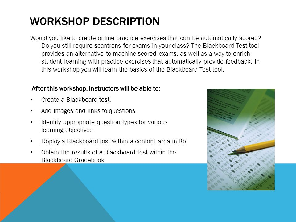 Workshop Description