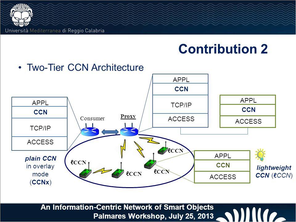 lightweight CCN (ℓCCN)