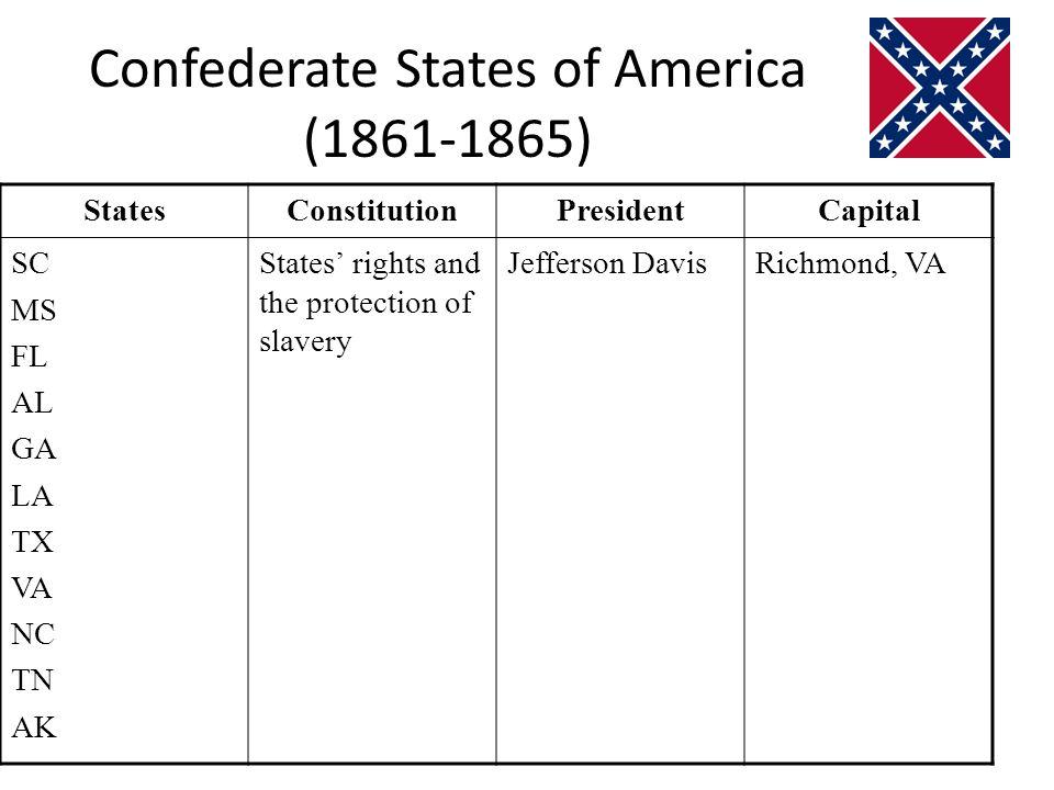 Confederate States of America (1861-1865)