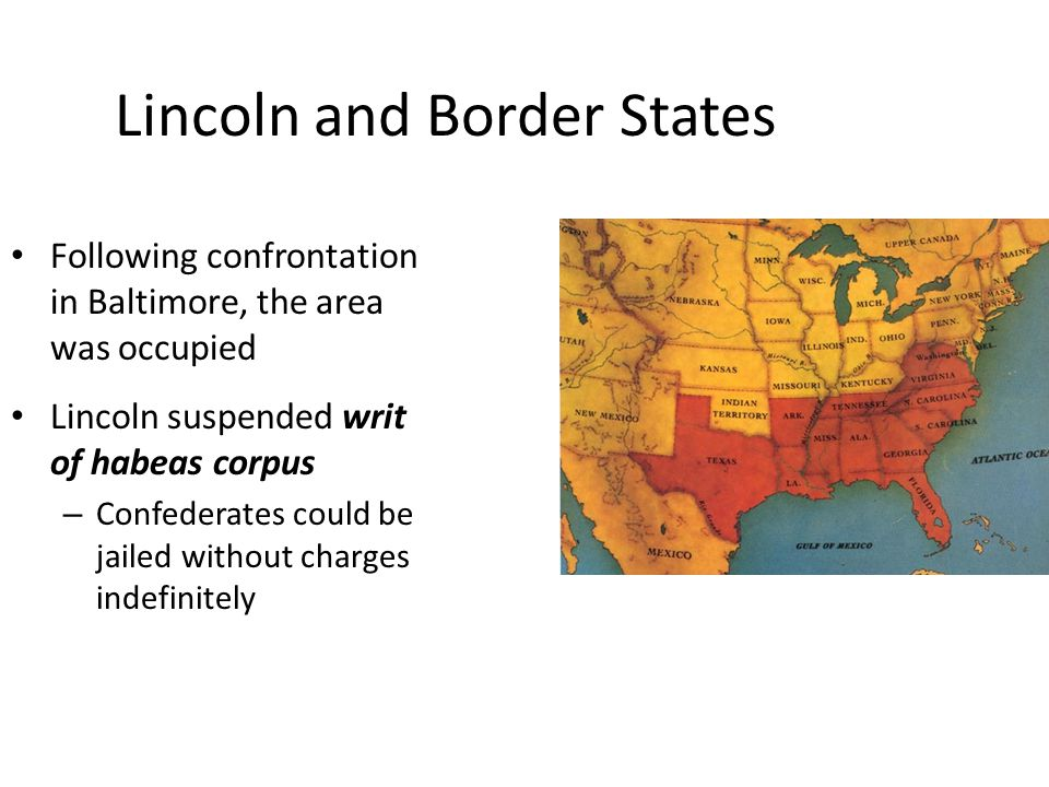 Lincoln and Border States