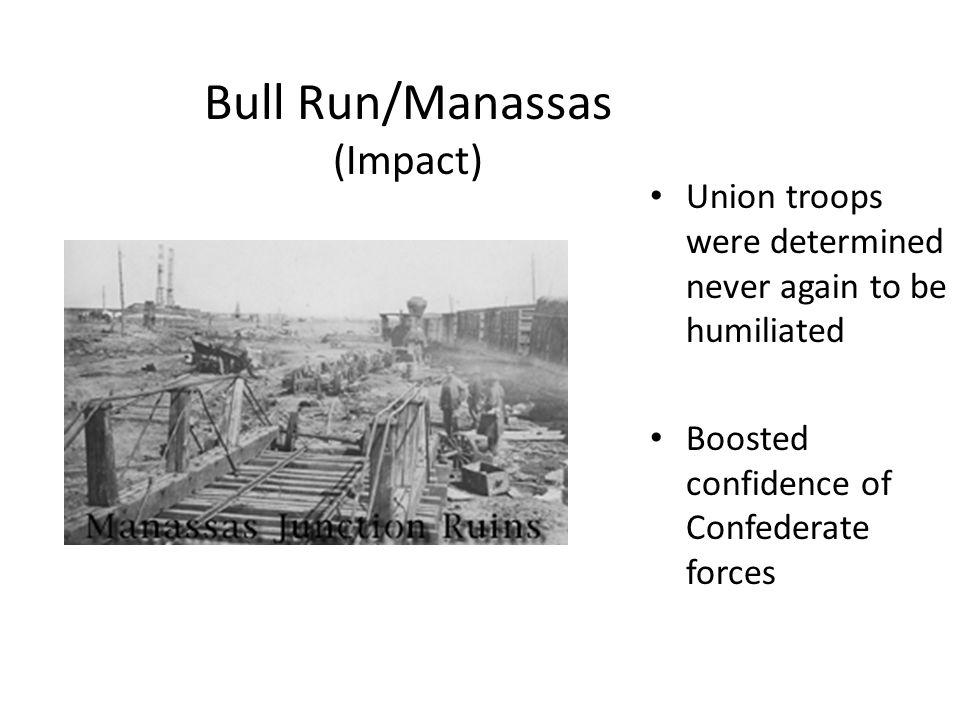 Bull Run/Manassas (Impact)