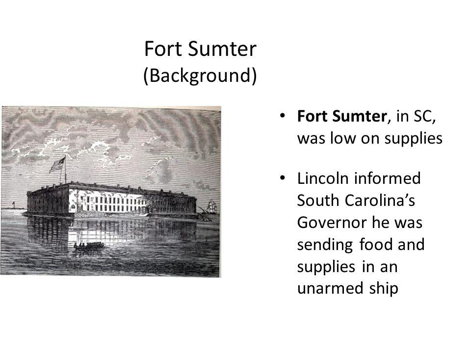 Fort Sumter (Background)
