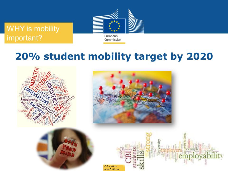 20% student mobility target by 2020