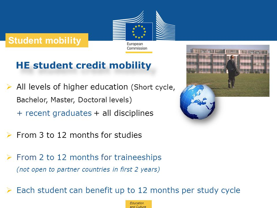 HE student credit mobility