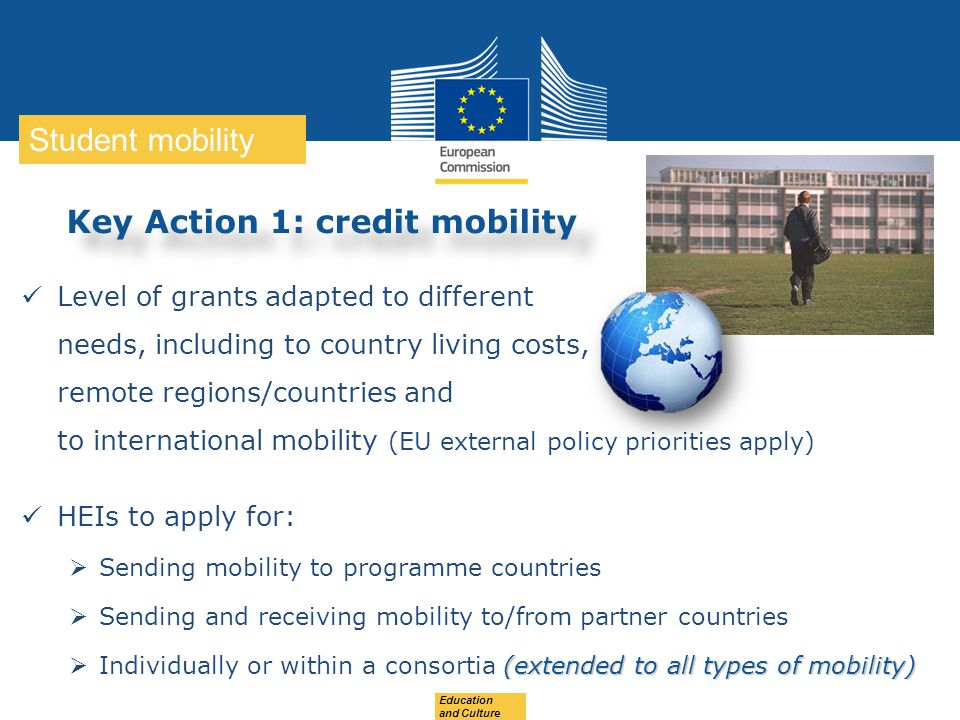 Key Action 1: credit mobility