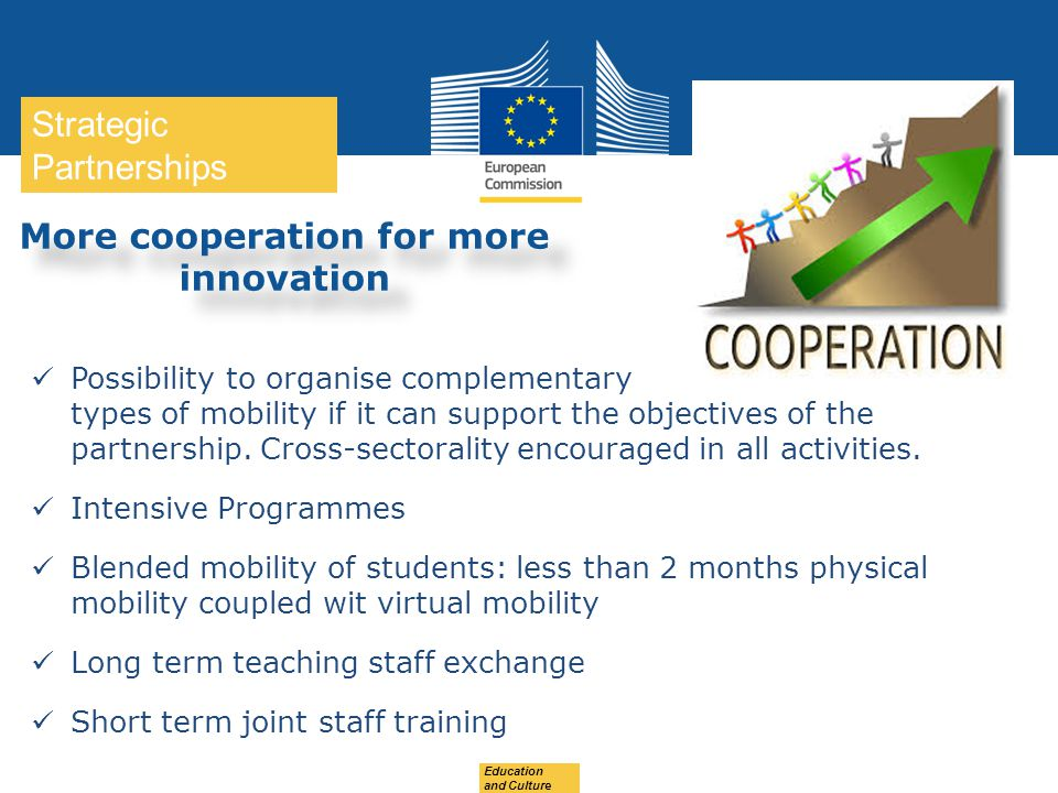 More cooperation for more innovation