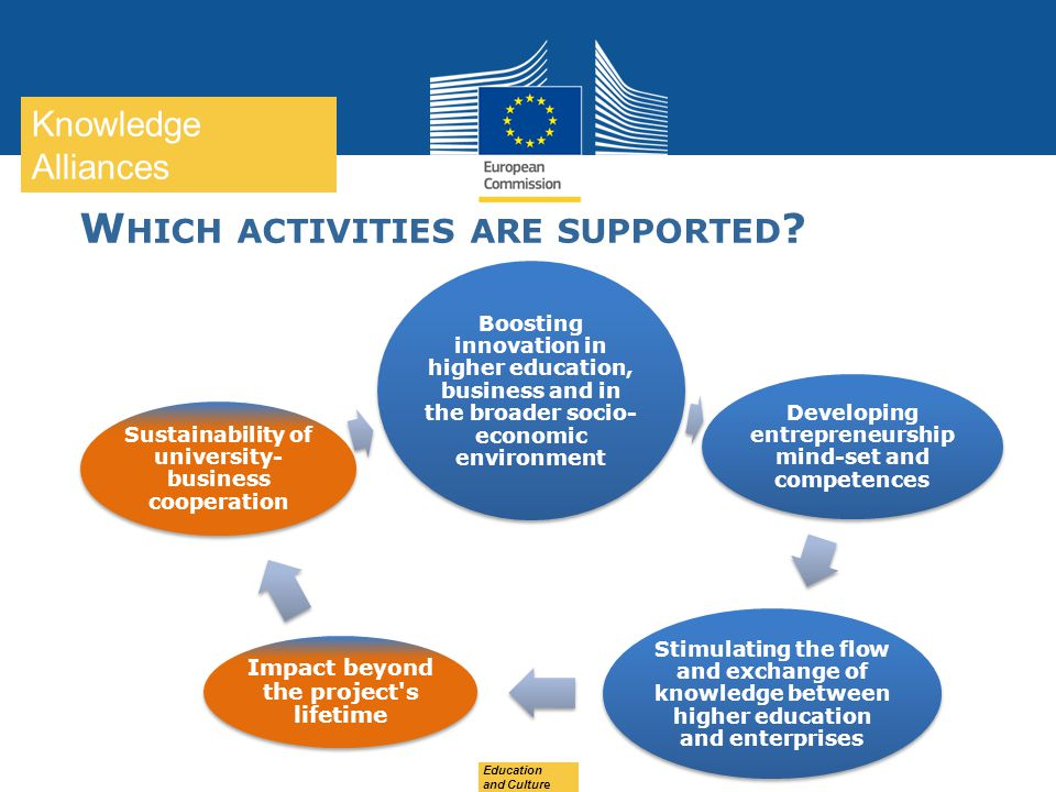 Which activities are supported
