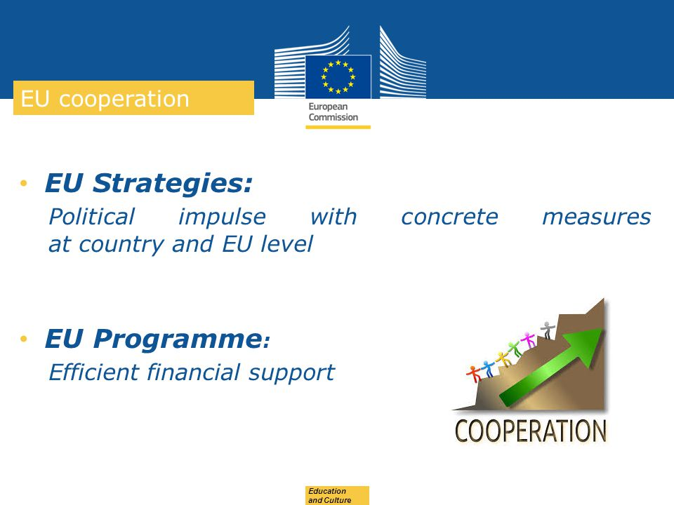 EU Strategies: EU Programme: EU cooperation