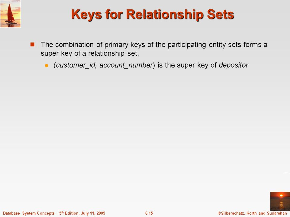 Keys for Relationship Sets