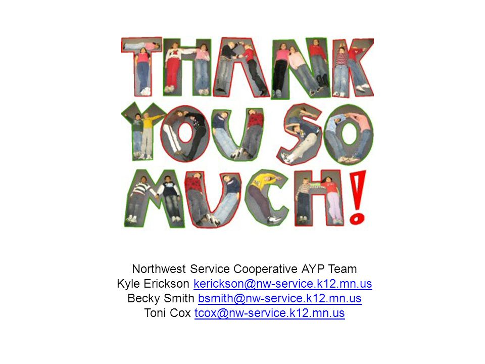 Northwest Service Cooperative AYP Team