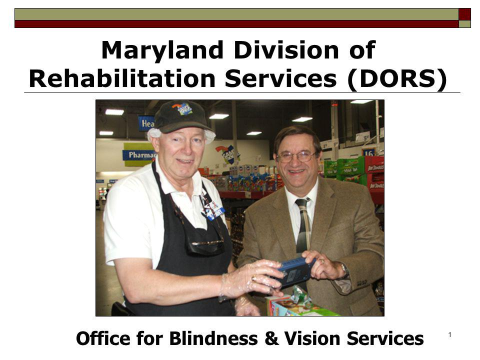 Maryland Division of Rehabilitation Services (DORS)