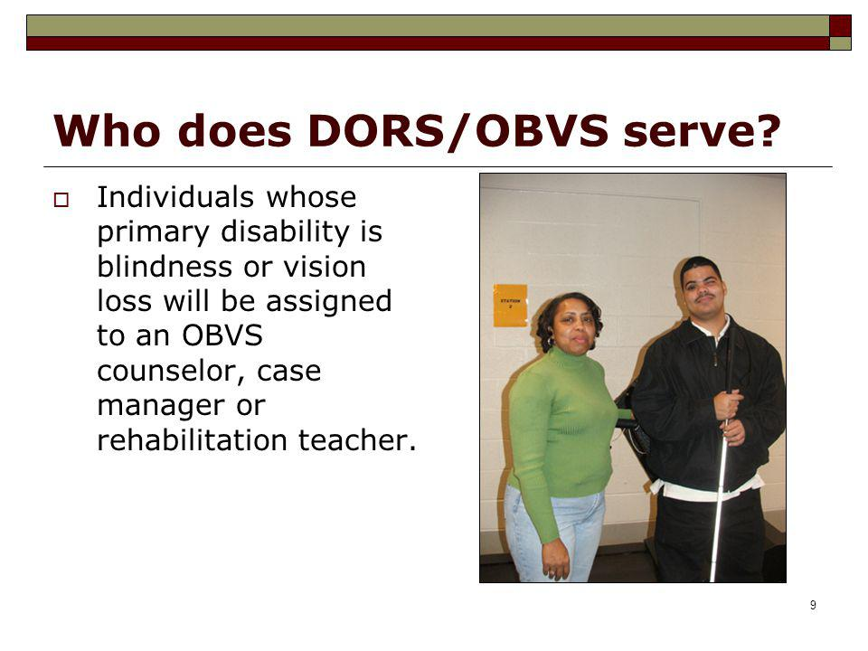 Who does DORS/OBVS serve