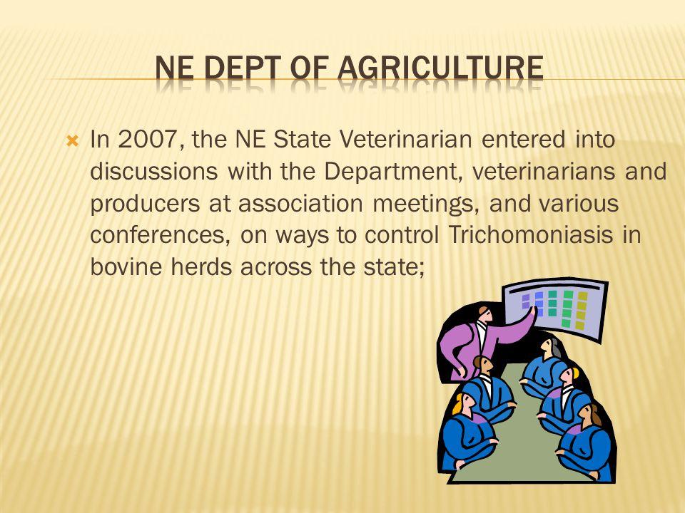 NE Dept of agriculture