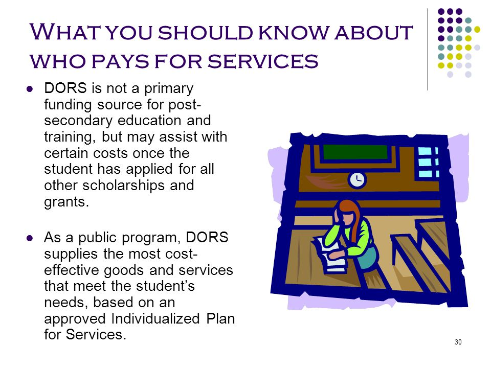 What you should know about who pays for services