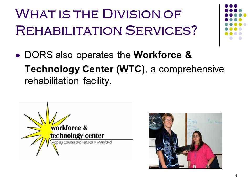 What is the Division of Rehabilitation Services