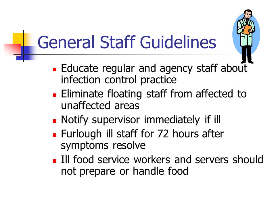 General Staff Guidelines