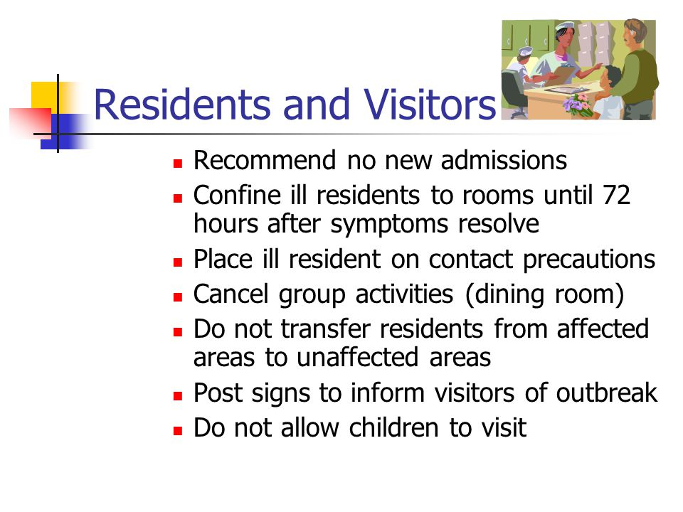 Residents and Visitors