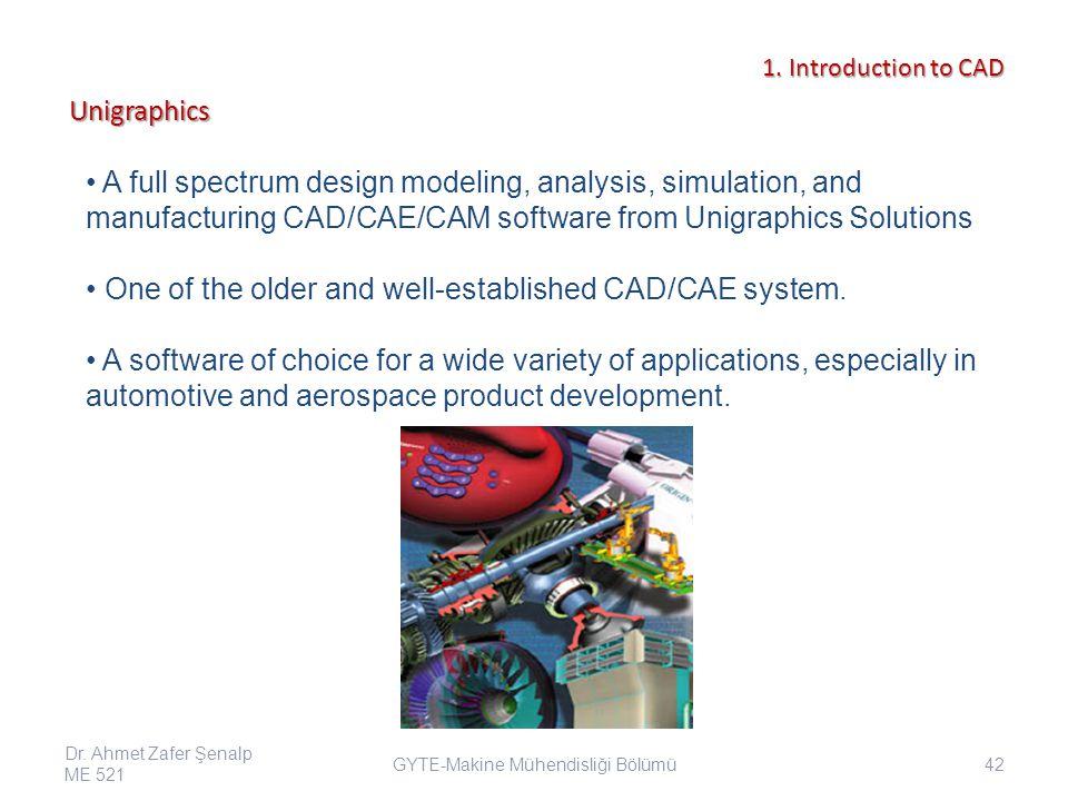 GYTE-Makine Mühendisliği Bölümü