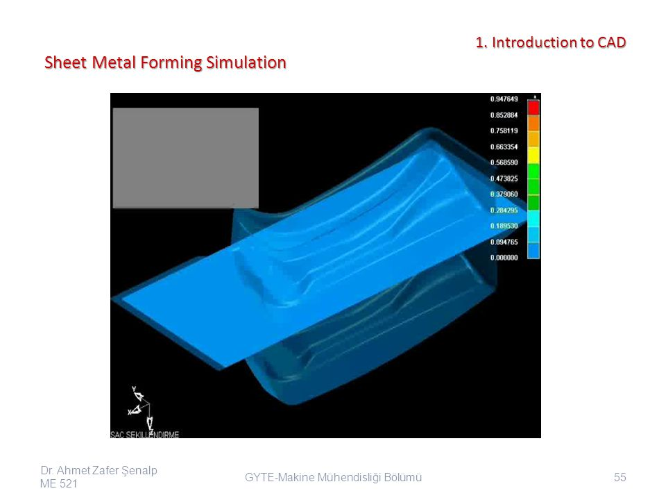 Sheet Metal Forming Simulation