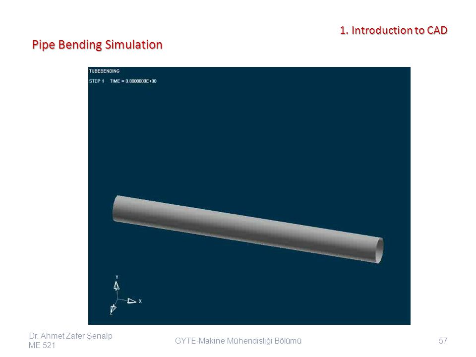 Pipe Bending Simulation