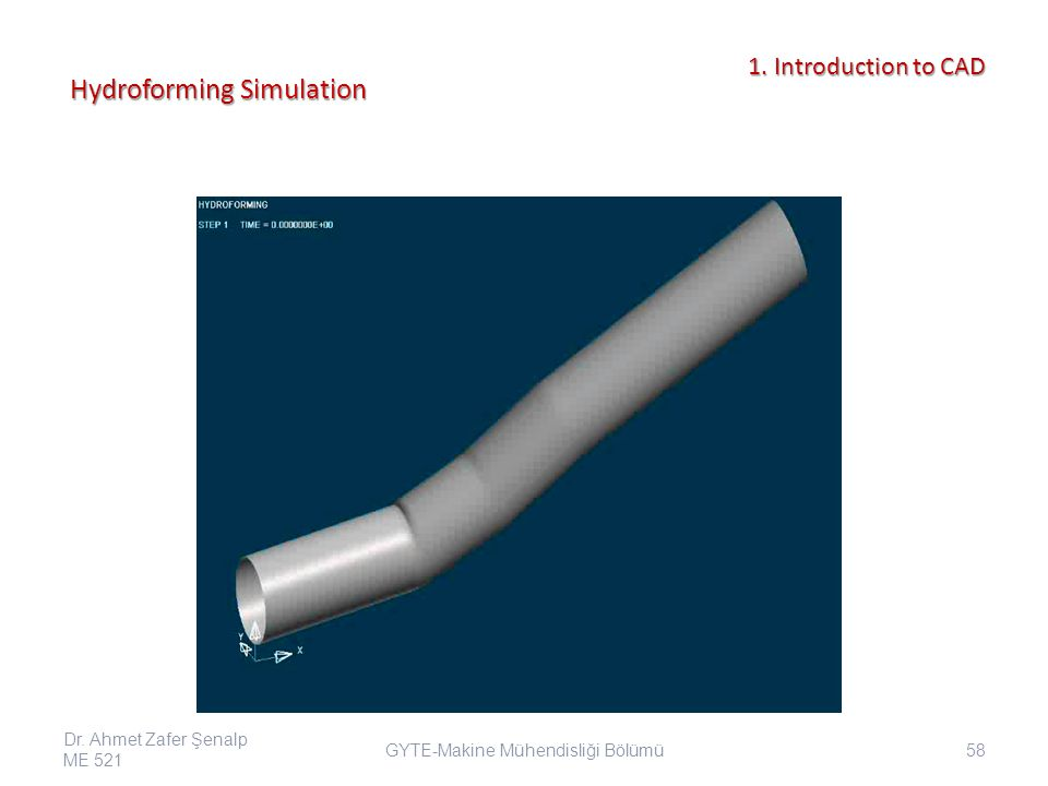 Hydroforming Simulation