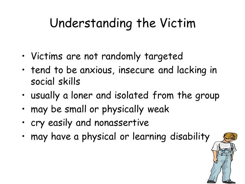 Understanding the Victim