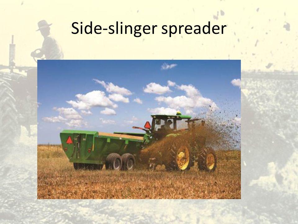 Side-slinger spreader