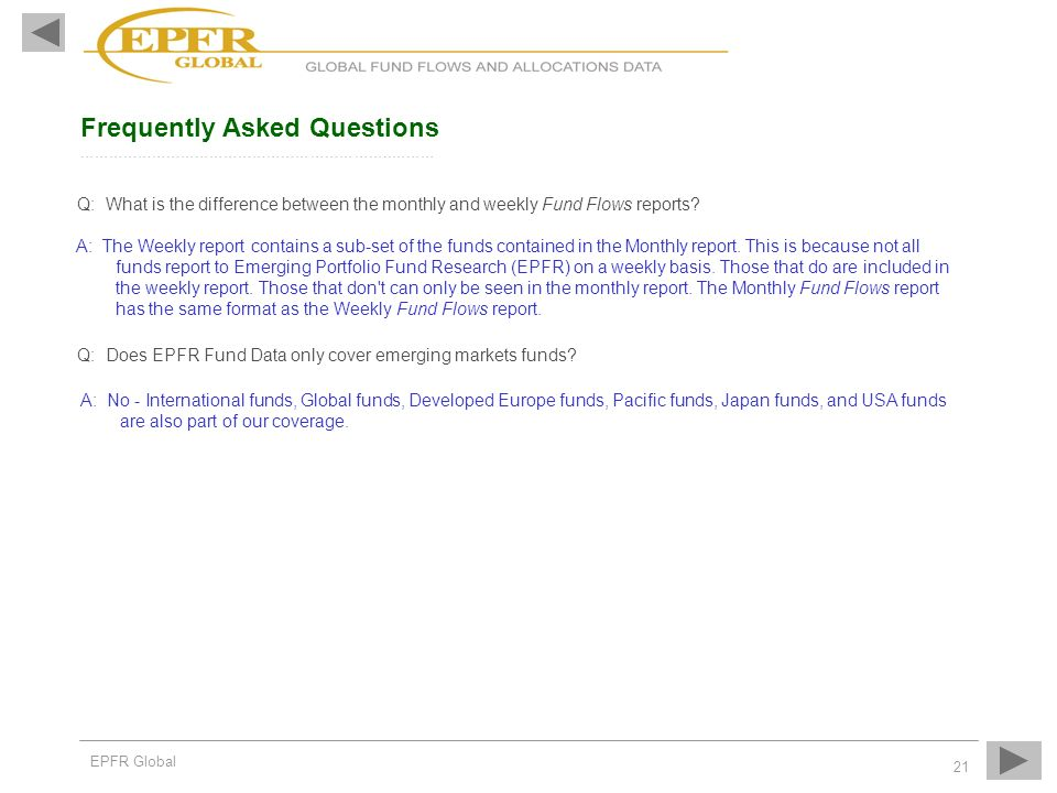 Frequently Asked Questions ………………………………………………………..………