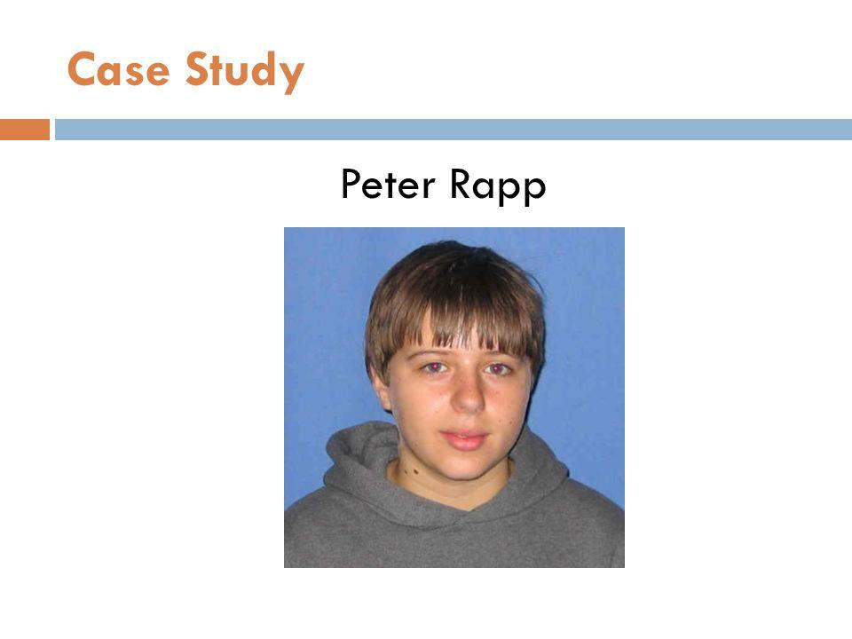 Case Study Peter Rapp