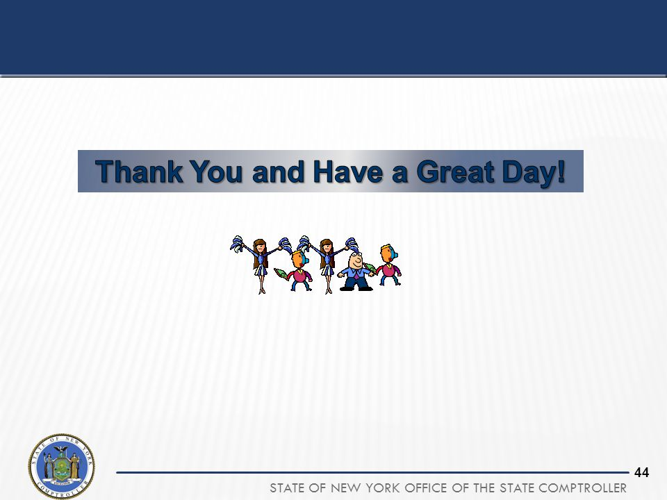 Thank You and Have a Great Day!