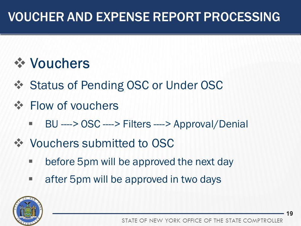 Voucher and Expense Report Processing