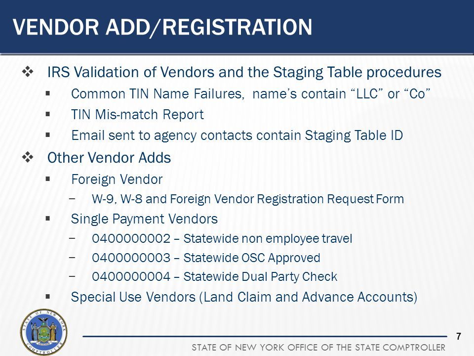Voucher Vendor And Payment Processing  State Expenditures  Ppt