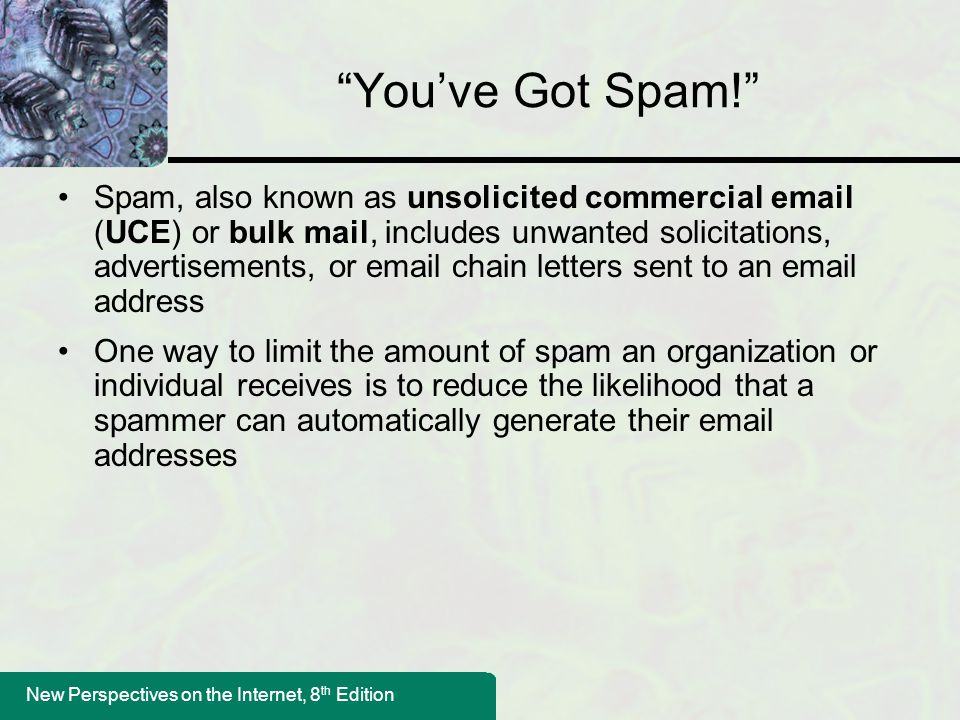 You've Got Spam!