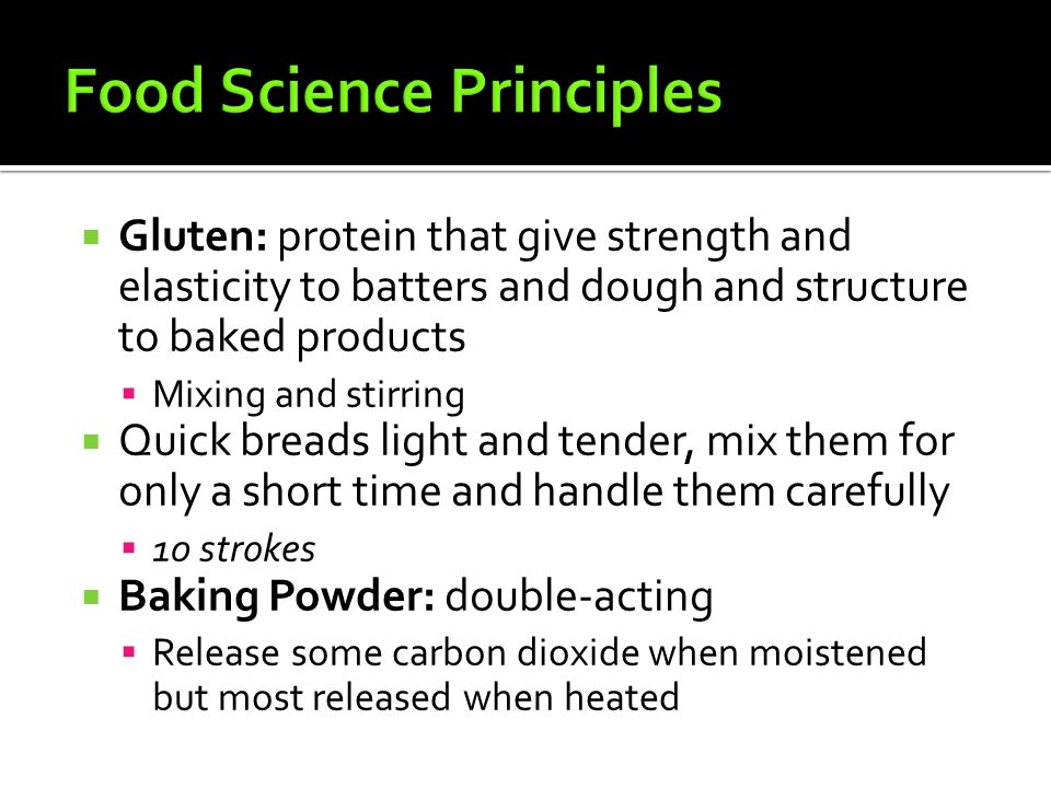 Food Science Principles