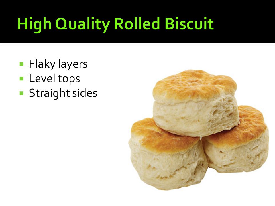 High Quality Rolled Biscuit