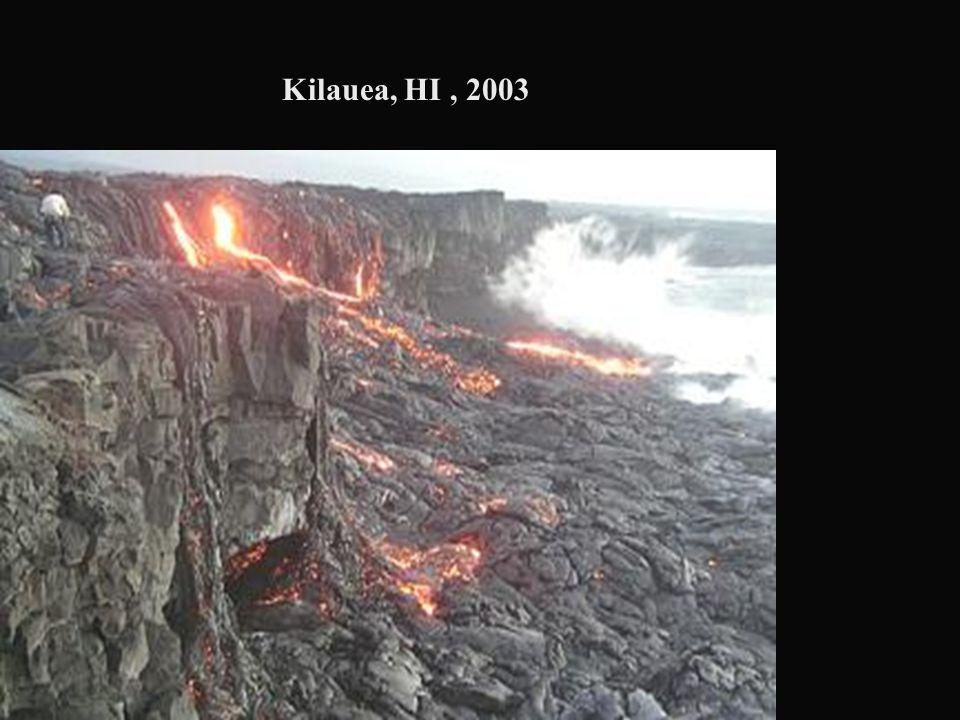 Kilauea, HI , 2003