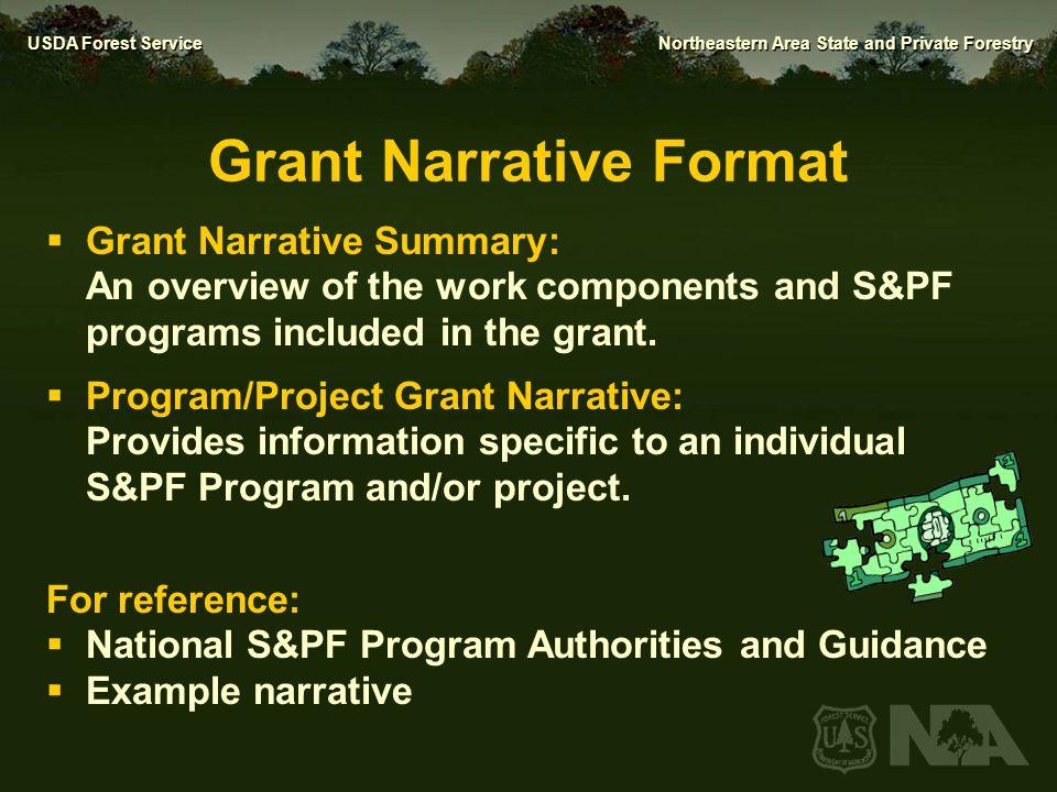 Grant Narrative Format