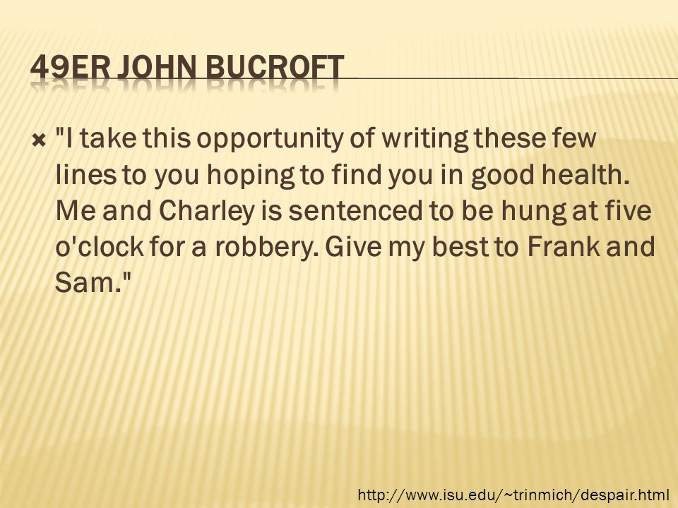 49er John Bucroft