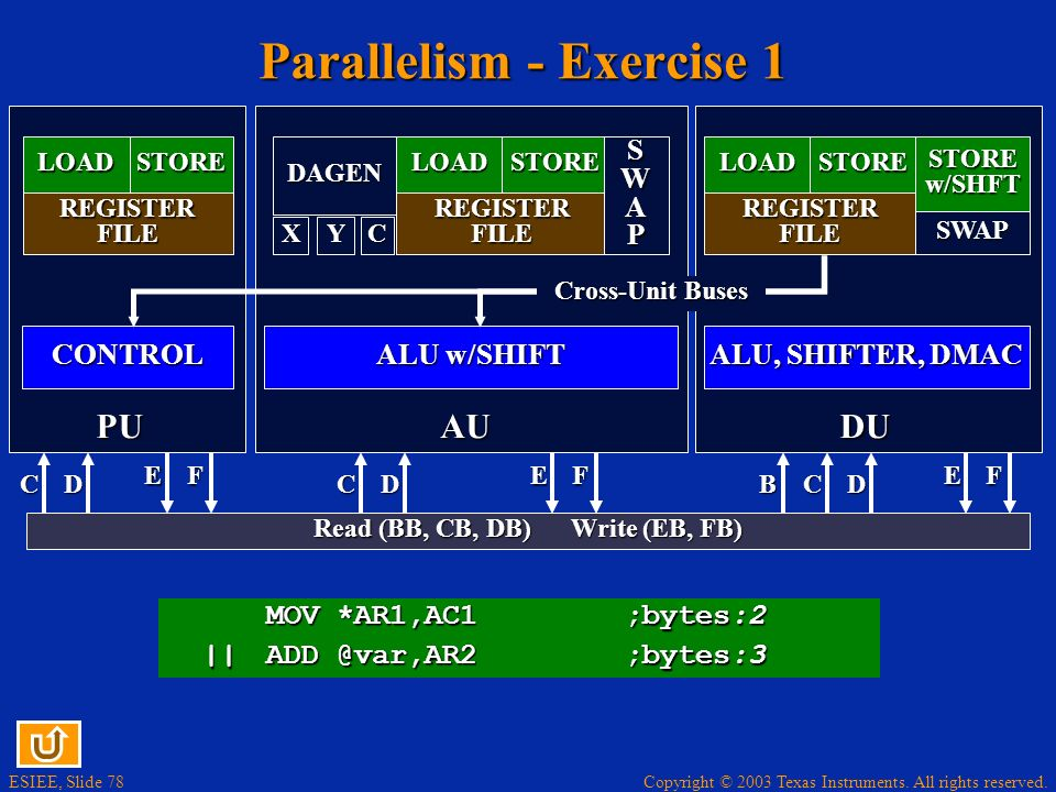 Parallelism - Exercise 1